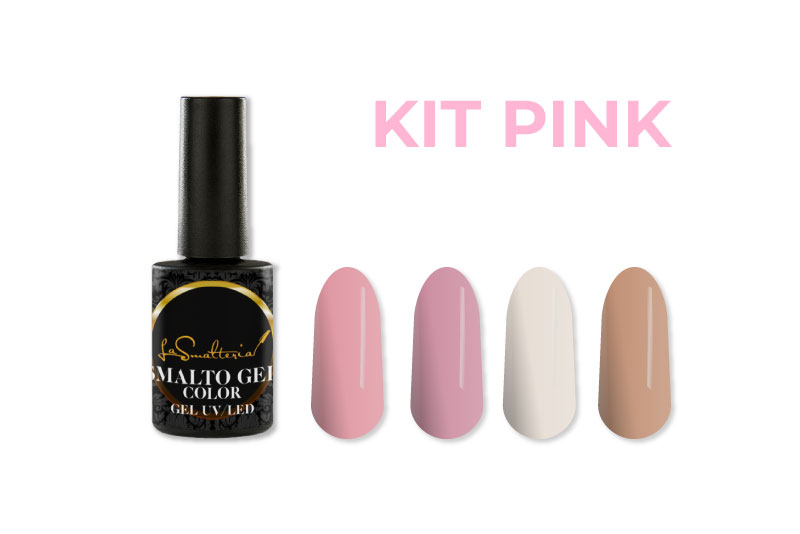 Kit Smalto Semipermanente PINK 6 ml